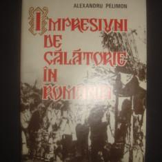 ALEXANDRU PELIMON - IMPRESIUNI DE CALATORIE IN ROMANIA