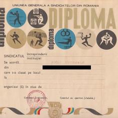 Diploma Uniunea Generala a Sindicatelor
