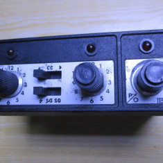 ? statie emisie R 8606 radio vechi sirena ? romanesca, rara de militie, armata? - Statie radio