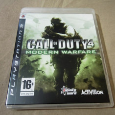Joc Call of Duty 4 Modern Warfare, PS3, original, alte sute de jocuri! - Jocuri PS3 Activision, Shooting, 18+, Single player