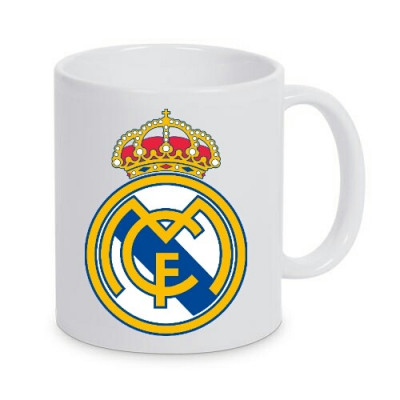 Cana personalizata Real Madrid, cana cafea, fotbal foto
