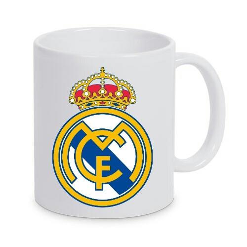 Cana personalizata Real Madrid, cana cafea, fotbal foto mare