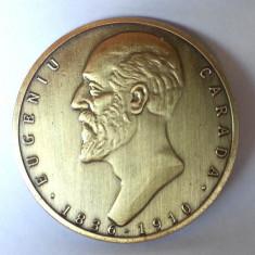 Medalie Masonica Eugeniu Carada Medalie Comemorativa