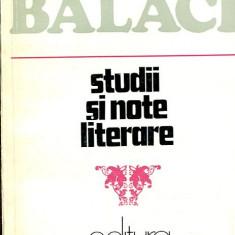 LICHIDARE-Studii si note literare - Autor : Alexandru Balaci - 54571 - Studiu literar