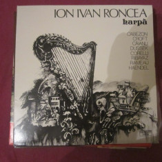 Vinil harpa ion ivan roncea - Muzica Clasica Altele