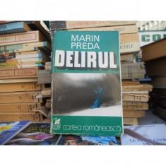 Delirul , Marin Preda