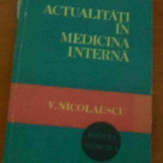 LICHIDARE-Actualitati in medicina interna - Autor : V. Nicolaescu - 79470