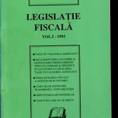 LICHIDARE-Legislatia fiscala, nr. 1- 1993 - Autor : - - 114609 - Carte Drept penal