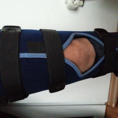 Orteza medicala fixa picior gamba genunchi fractura luxatie operatie imobilizare - Orteze