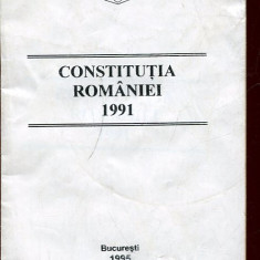 LICHIDARE-Constitutia Romaniei 1991 - Autor : - - 96792 - Carte Drept penal