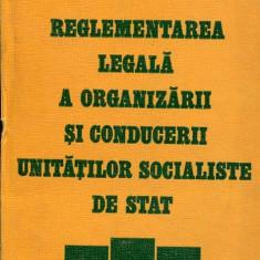 LICHIDARE-Reglementarea legala a organizarii si conducerii unitatilor socialiste de stat - Autor : Victor Dan Zlatescu - 85322 - Carte Drept penal