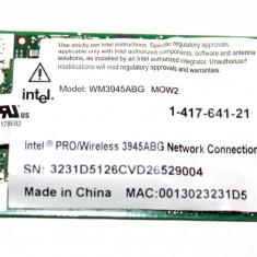 Placa de retea wireless Sony Vaio VGN-SZ WM3945ABG 1-417-641-21