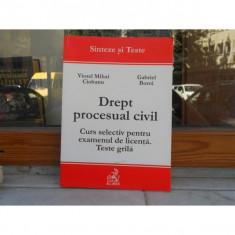 DREPT PROCESUAL CIVIL, SINTEZE SI TESTE, VIOREL MIHAI CIOBANU - Carte Drept civil