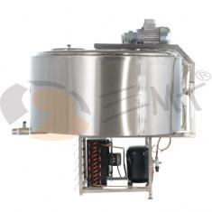 Tanc din inox pentru racire lapte 400L x 1.6 kw monofazic EMT.CTS400-1