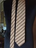 Cravata HUGO BOSS matase - 1, Maro, Dungi