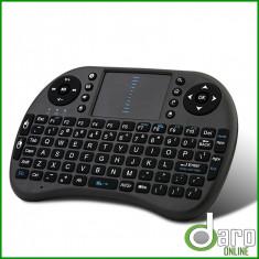 Mini Tastatura Wireless cu Touchpad pentru Smart TV | Reincarcabila | Garantie, Fara fir