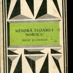 LICHIDARE-Mandra floare-i norocu - Doine si cantece - Autor : I. Filipciuc - 2471 - Carte folclor