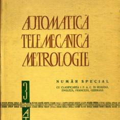 LICHIDARE-Automatica, telemecanica, metrologie - Autor : - - 86589 - Carti Automatica