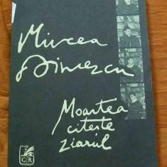LICHIDARE-Moartea citeste ziarul - Autor : Mircea Dinescu - 4668 - Carte poezie