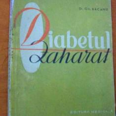 LICHIDARE-Diabetul zaharat - Autor : Gh. Bacanu - 82586