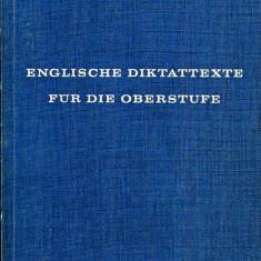 LICHIDARE-Englische diktattexte fur die oberstufe - Autor : Walter Fischer - 20013