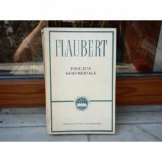 Educatie sentimentala , Flaubert , 1957