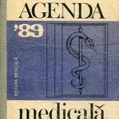 LICHIDARE-Agenda medicala'89 - Autor : - - 63521