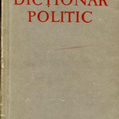 LICHIDARE-Dictionar politic - Autor : B.n.Ponomarev - 89792 - Enciclopedie