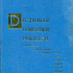 LICHIDARE-Dictionar forestier poligot, vol. II - Autor : - - 109145 - Enciclopedie