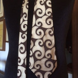 Cravata vintage matase, Din imagine