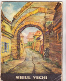 bnk cp Sibiul vechi - album cu 10 carti postale in desene de Hans Hermann