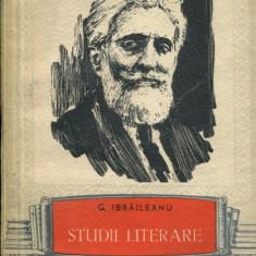 LICHIDARE-Studii literare- Ibraileanu - Autor : Ibraileanu - 80558 - Studiu literar