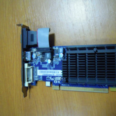 Placa video PC AMD PCI-E Saphire HD5450 1GB DDR3 64-bit DirectX 11 HDMI DVI-I VGA, PCI Express, Ati