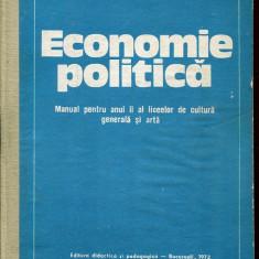 LICHIDARE-Economie politica- manual pentru anul II al liceelor de cultura generala si arta - Autor : - - 131049