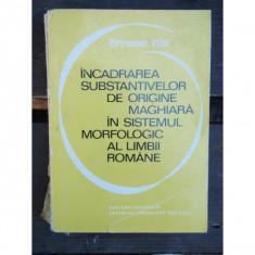 INCADRAREA SUBSTANTIVELOR DE ORIGINE MAGHIARA - Carte Teste Nationale