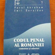 LICHIDARE-Codul Penal al Romaniei (comentat si adnotat) - Autor : Pavel Abraham, Emil Derdisan - 8792 - Carte Drept penal
