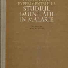 LICHIDARE-Contributii experimentale la studiul imunitatii in malarie - Autor : - - 150230