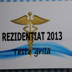 Rezidentiat teste 2013