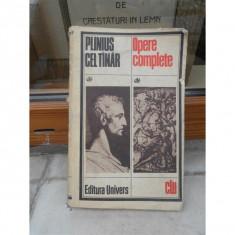 OPERE COMPLETE, PLINIUS CEL TINAR - Roman, Anul publicarii: 2000