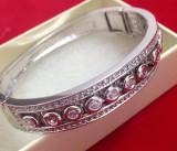 Bratara  placata cu argint si cristale Swarovski-GAMA PANDORA