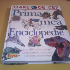 PRIMA MEA ENCICLOPEDIE TEORA 2005, 320 PAG.ILUSTRATE, FORMAT MARE TIP CATALOG