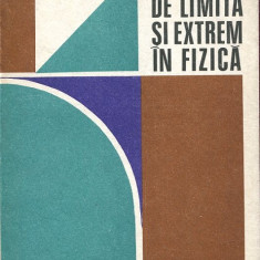 LICHIDARE-Probleme de limita si extrem in fizica - Autor : Romulus Sfichi - 6667 - Carte Fizica