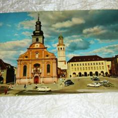 Cp bicicleta masina biserica GERMANIA - 2+1 gratis - RBK24300 - Carte postala tematica, Necirculata, Fotografie
