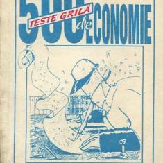 LICHIDARE-500 teste grila de economie - Autor : C. Gogoneata - 114688