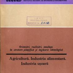 LICHIDARE-Agricultura, Industria alimentara, industria usoara - Autor : - - 108853 - Carti Industrie alimentara