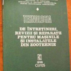 LICHIDARE-Tehnologia de intretineri, revizii si reaparatii pentru masinile si instalatiile din zootehnie - Autor : - - 80737 - Carti Zootehnie