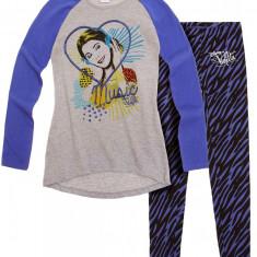 Tunica cu leggings Disney Violetta gri