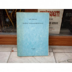 Bazele Managementului, Emil Mihuleac, 1993