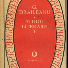 LICHIDARE-Studii literare - Autor : G.Ibraileanu - 55433 - Studiu literar