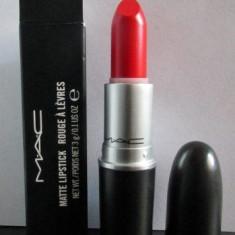 Ruj Mac Cosmetics MAC MATTE - Nuanta Lady Danger - Original - Detalii in anunt
